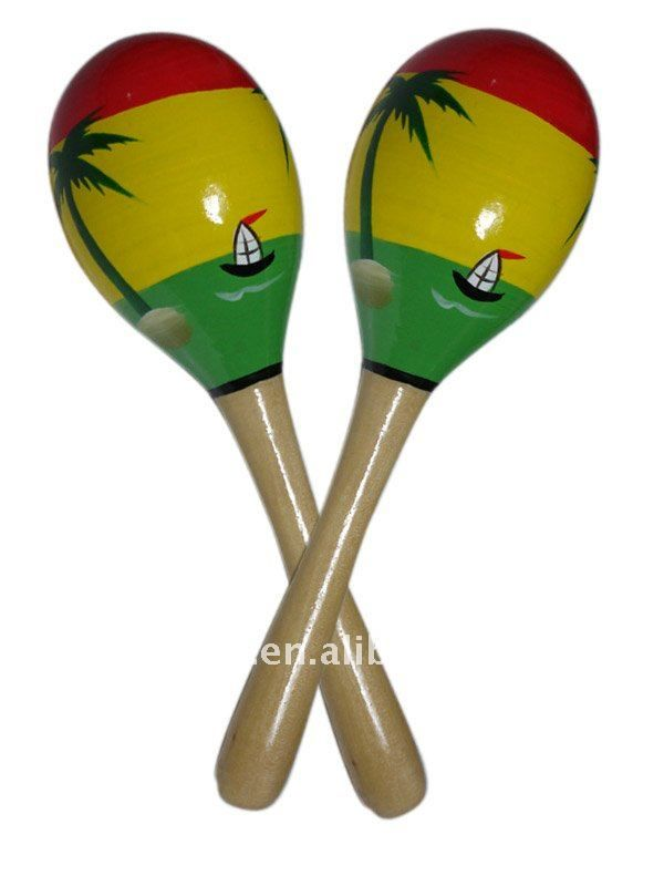 MARACAS These instruments, unlike the rest, don't need to ...
