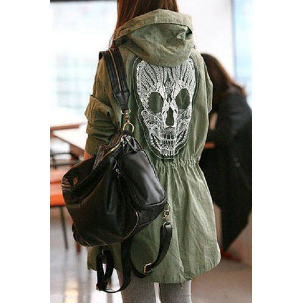 """am not one for skull fashion normally...but this has a cool, hippy """"day of the dead"""" vibe :)"""