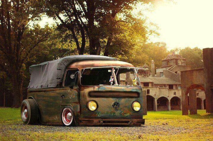 #volkswagen #vw #bus #slammed #bagged | Rides | Pinterest | Volkswagen, Buses and Campers
