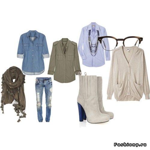 Одеваемся в стиле casual / модная весна в стиле casual
