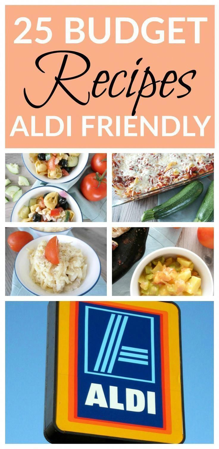 25 Aldi Dinner Recipes For 150 Budget Friendly Meals Budget Friendly Recipes Aldi Recipes Cheap Dinner Recipes
