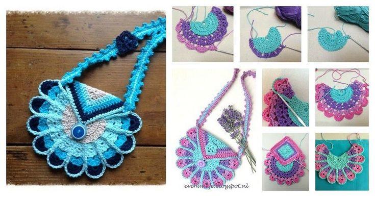 DIY Crochet Peacock Bag Tutorial | UsefulDIY.com