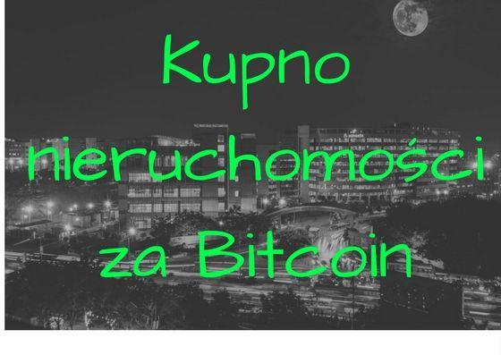 Wczoraj na Ukrainie kupiono pierwszą na świecie nieruchomość poprzez system blockchain. Jesteśmy ewidentnie na początku ciekawej ery. Bitcoin i krytowaluty coraz śmielej rozpychają się w realnym świecie.