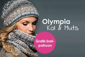 Breipatroon Olympia Kol en Muts