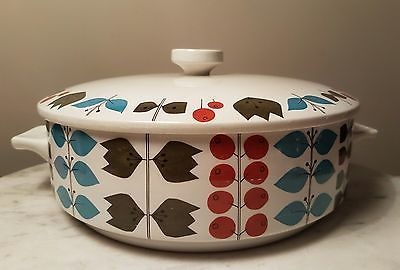 Scarce Mid Century Nordic Midwinter Cherry Tree Tureen Vintage Scandinavian