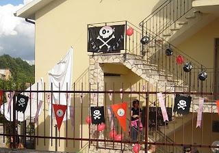 festoni per pirati