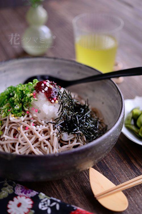 Ume Oroshi Soba 梅おろし蕎麦