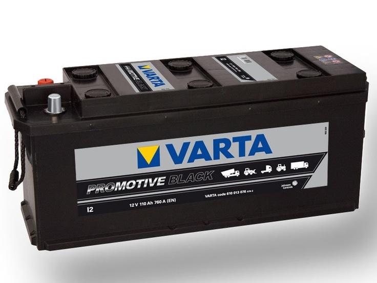 Autobaterie VARTA PROMOTIVE BLACK 110Ah, 760A, 12V, I2 Autobaterie - Autodoplňky - Autosklo