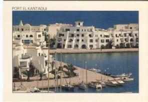 Tunisie Lumiere Postcard, Port el Kantaoui 062