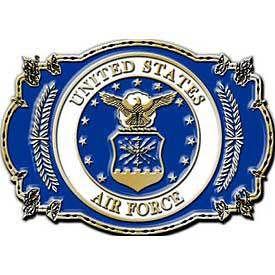 U.S. Air Force Logo Buckle - Meach's Military Memorabilia & More
