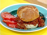 Rachael Ray's Super Sloppy Joes - seriously the best sloppy joes I've ever made, and the only RR recipe I've ever tried