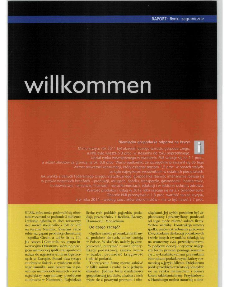 Kancelaria DD Legal z Hamburga, Gazeta MSP listopad 2013, strona 2 #hamburg #DDLegal #law #firma #biznes #prawo #niemcy