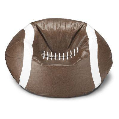 Football Bean Bag Chair - http://delanico.com/bean-bag-chairs/football-bean-bag-chair-519434006/