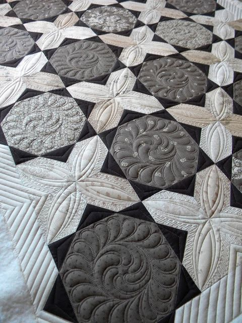 More beautiful quilting from Sew Kind Of Wonderful