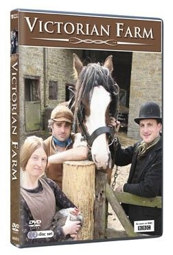 BBC Victorian FarmLiving History, 2 Dvd Sets, Complete Series, Ruth Goodman, Victorian Farms, Peter Ginn, Farms Dvd, John Kirkpatrick, Alex Langland
