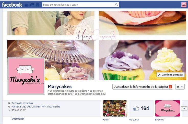 Página de Facebook de Marycake's: https://www.facebook.com/pages/Marycakes/606030872746300.