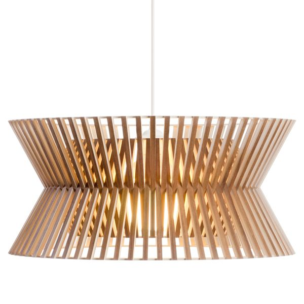 """Designer of the Secto Design lamps Seppo Koho on the design: """"To me, form is the most important criterion when designing any object. My lighting fixtures are spaces in themselves."""