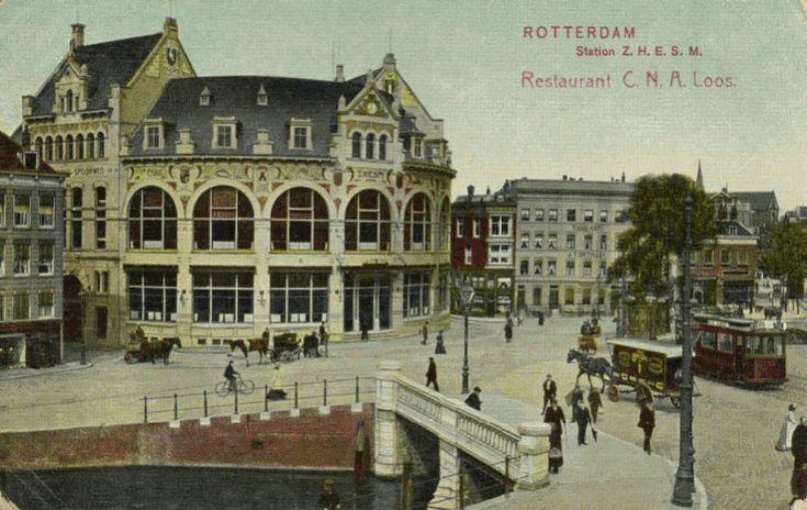 Rotterdam, Hofplein, 1908