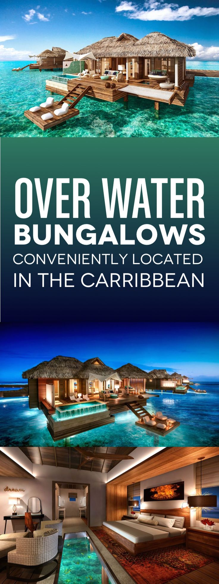 NEW Jamaica Over Water Bungalows 16 best