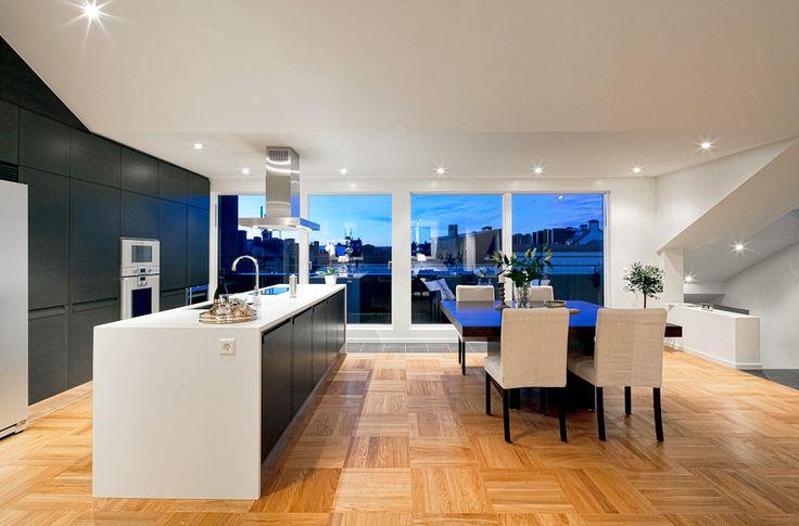 Attic apartment in Stockholm2.MyHouseIdea