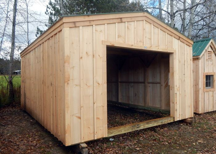 14x20 Barn Garage. Example shows no door + no floor system vs overhead door system. Standard Plans $9.99, Kits - 2 people 28 hours + Fully Assembled in the northeast. Kits ship *Free in the continental US + eastern Canada.  http://jamaicacottageshop.com/shop/barn-garage/ http://jamaicacottageshop.com/wp-content/uploads/pdfs/pdf14x20barngarage.pdf http://jamaicacottageshop.com/free-shipping/ #garages #barnshed #shedbarn #sheds #shed #jamaicacottageshop