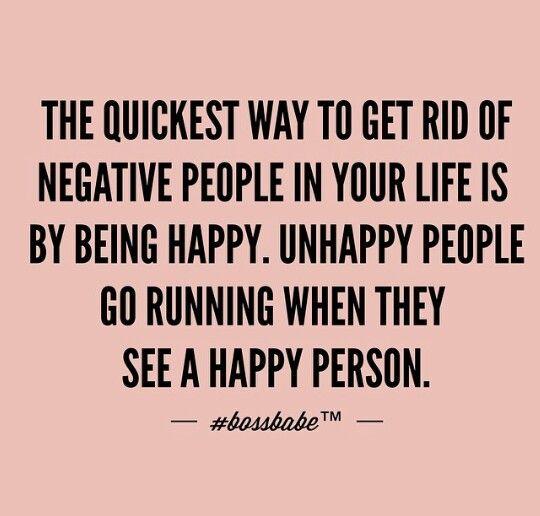 Be Happy ---> Remove Negativity #positivity #inspiration