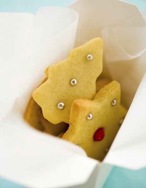 Les biscuits et sablés sont les petites pâtisseries gourmandes de fin d'année qui réunissent la famille aux fourneaux.  http://www.elle.fr/Noel/Cuisine/Menus-de-Noel/Desserts-de-Noel/Biscuit