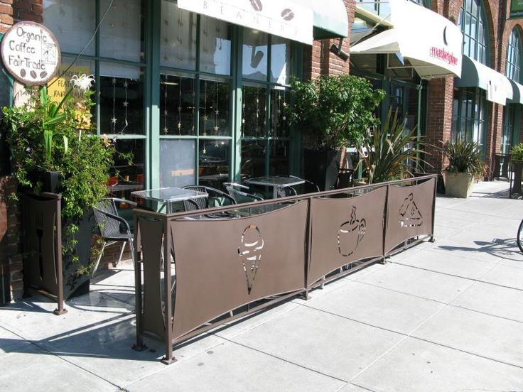 Cafe Outdoor Partitions   Google Search