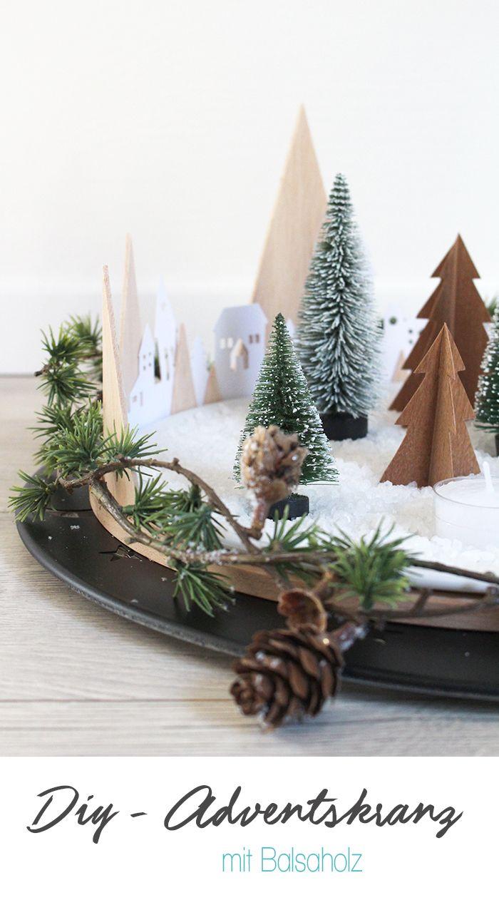 do it yourself kreativer adventskranz aus papier stickrahmen und balsa diy weihnachten. Black Bedroom Furniture Sets. Home Design Ideas
