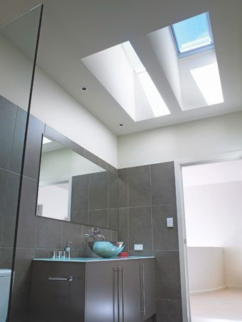 17 best images about bathroom ideas on pinterest for How to clean velux skylights