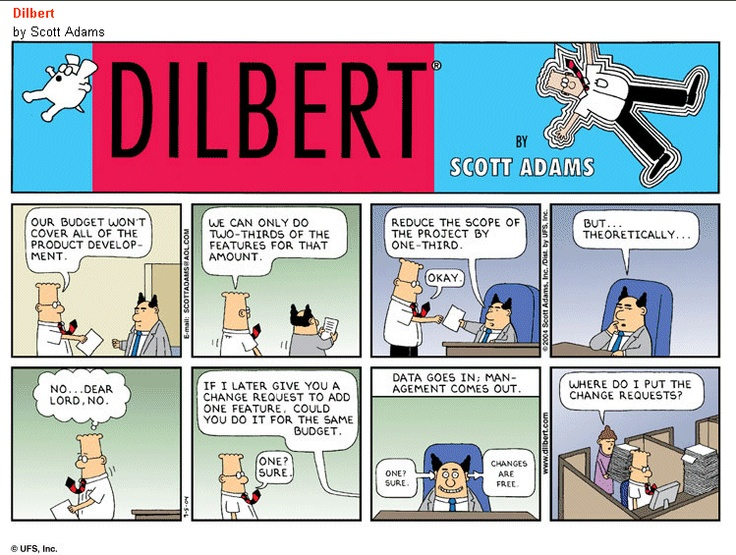 Dilbert on change requests