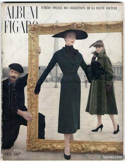 Album du Figaro 1951 N°31, Christian Dior, Jacques Fath, Photo Des Russel