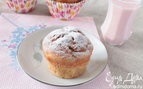 Банановые кексы со сливочным сыром и йогуртом | Кулинарные рецепты от «Едим дома!»