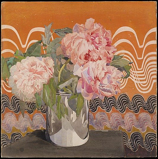 watercolor, gouache, graphite - art by Charles Rennie Mackintosh (Met museum collection)
