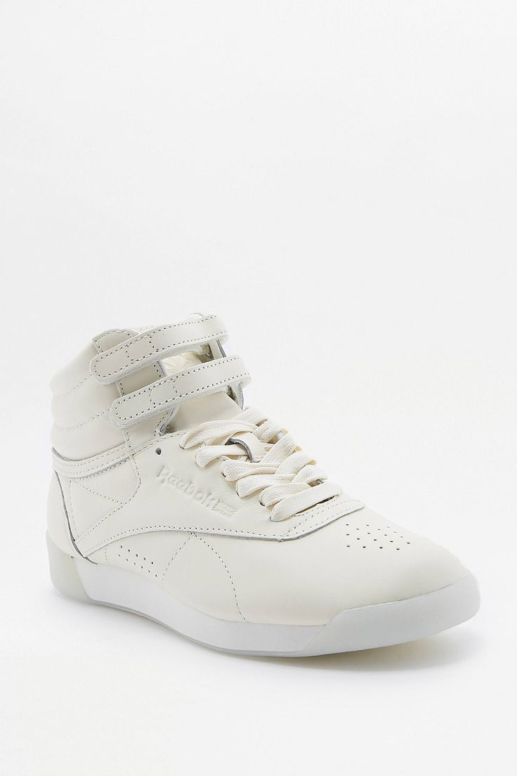 Shop Reebok Freestyle Milky White High Top Trainers at Urban Outfitters today. We carry all the latest styles, colours and brands for you to choose from right here.