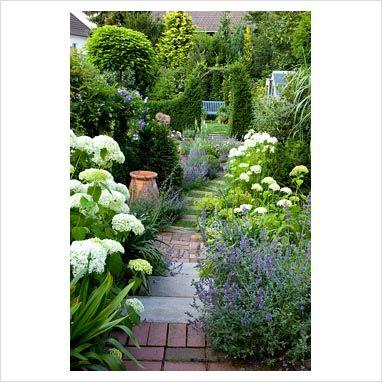 17 beste idee n over narrow garden op pinterest kleine for Tall thin trees for small gardens