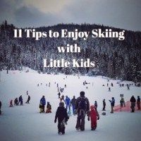 SKIING WITH KIDS - When the kids are having fun, we are having fun. How the dynamics change about enjoying vacation or days out when you have kids right?! We still are the same persons and still love the same things and want to do them. Now with the kiddos it sometimes is a challenge to keep on doing them, like skiing and snowboarding. We pondered on this. Waiting or taking them with us and starting them young?