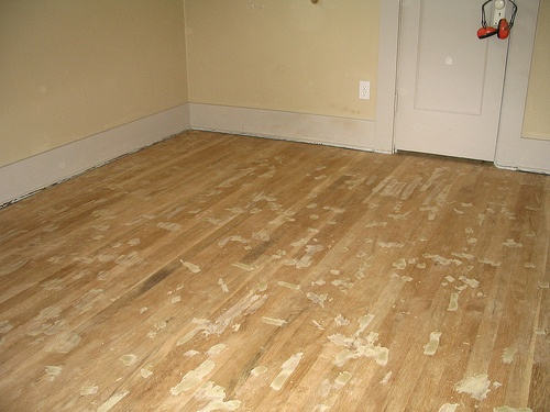How to Refinish Wood Floors in 12 Steps.    Really need to do this. Really not looking forward to it...what to do with all the furniture &  stuff while doing it?!