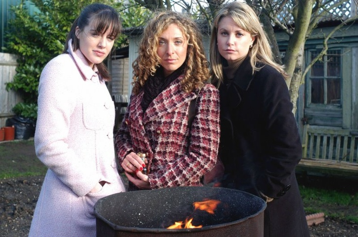 Zoe Slater, Chrissie Watts and Sam Mitchell played by Michelle Ryan, Tracy-Ann Oberman and Kim Medcalf