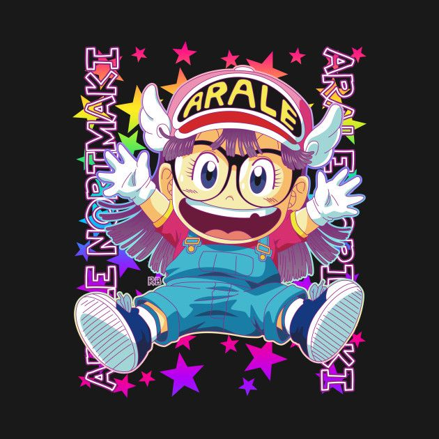 Check out this awesome 'Arale+Stars+Version' design on @TeePublic!