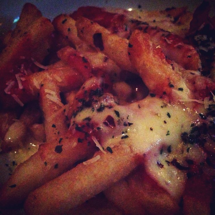 Pizza french fries