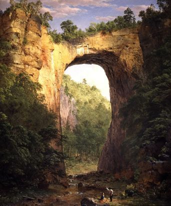 Frederic Edwin Church (American, Hudson River School, 1826-1900): Twilight in the Wilderness, 1860. - Google Search