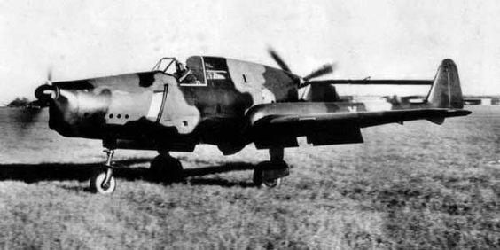 Fokker D.XXIII preparing for take off (Date and location unknown)