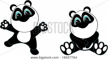 Vectores y fotos en stock de conjunto de dibujos animados de oso ...