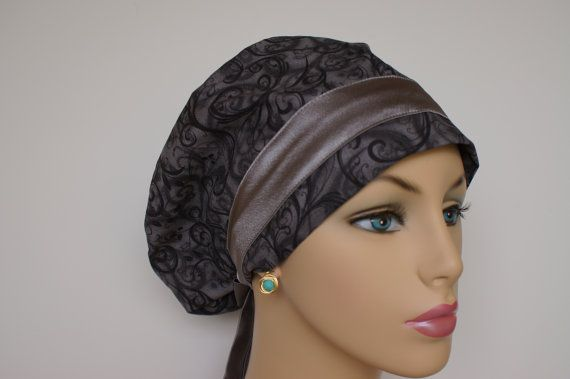 Woman Euro Surgical Cap Butterfly Carnival by surgihats4u