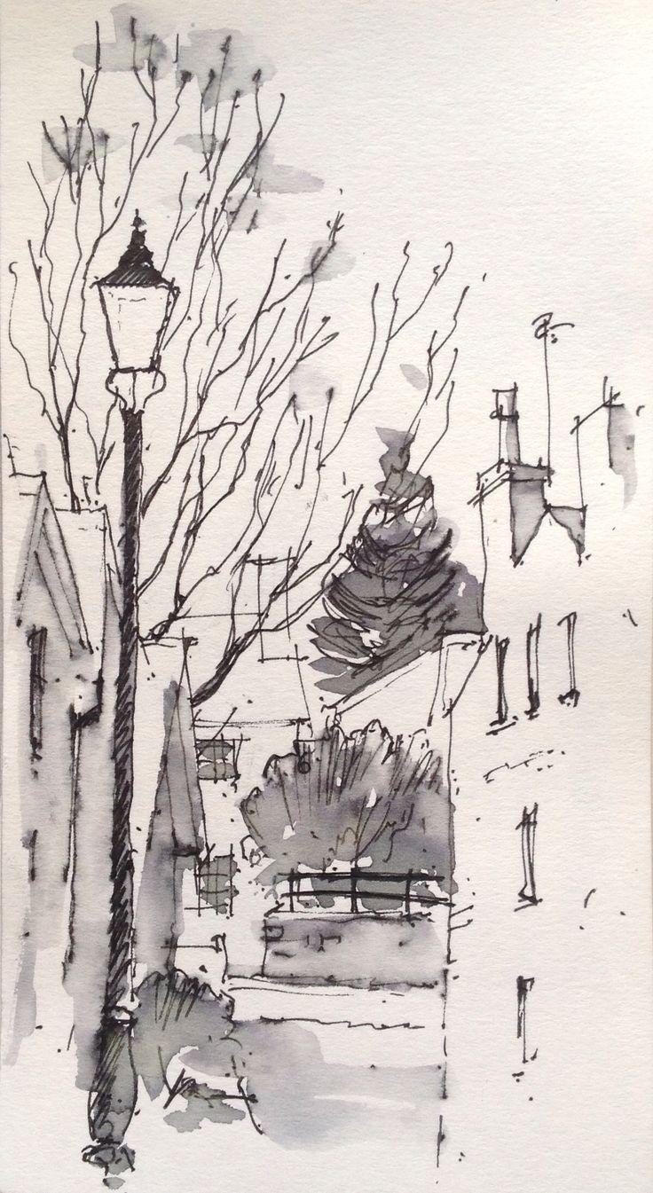 Ilkley Sketch ~ John Edwards