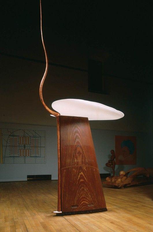 Křídlo | dřevo, plexi | 370 x 165 x 100 cm | 1999 | Obr.: 1/1