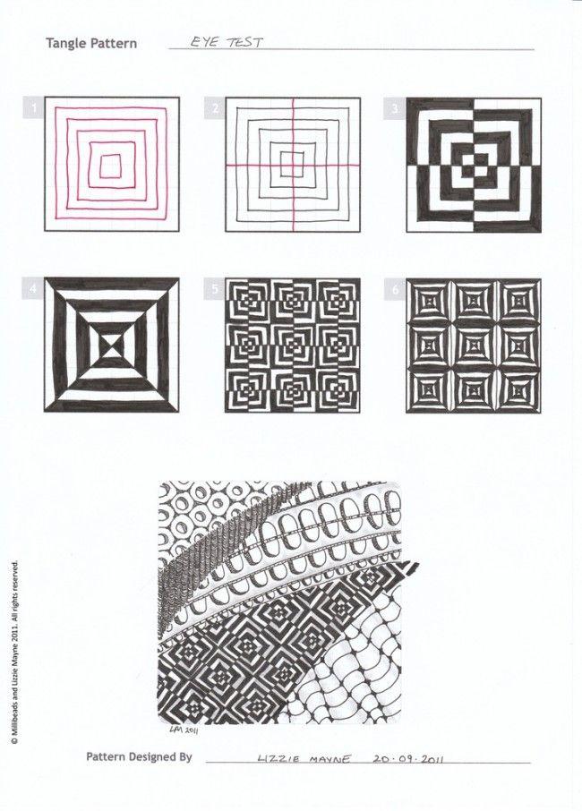 Zentangle: desenhando com padronagens