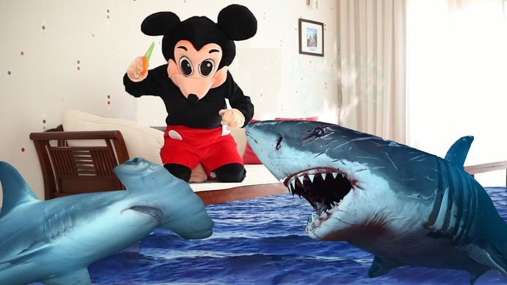 Mickey Mouse & Minnie Mouse Full Episodes! Shark Hunter! Finger Family S...