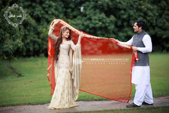 Omer mughal photography | wedding photography | Pakistani weddings | white lehenga n shirt | nikah dress